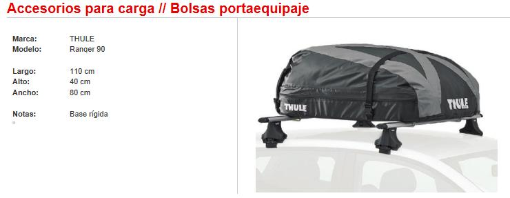 bolsas portaequipaje thule ranger 90 rp autoshop. Black Bedroom Furniture Sets. Home Design Ideas