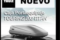 CAJA PORTA EQUIPAJE   TOURING 200 TITÁN
