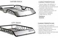 CANASTILLA SAFARI RACK Y CITY RACK