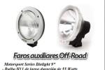 FAROS AUXILIARES Off-Road Lights