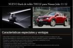 NUEVO Rack de toldo THULE para Nissan Juke 11-12