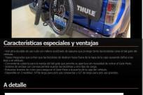 Protectores para colocar bicicletas de montaña THULE Gate Mate